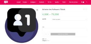 acheter followers tiktok