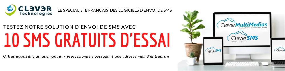 Envoi de SMS