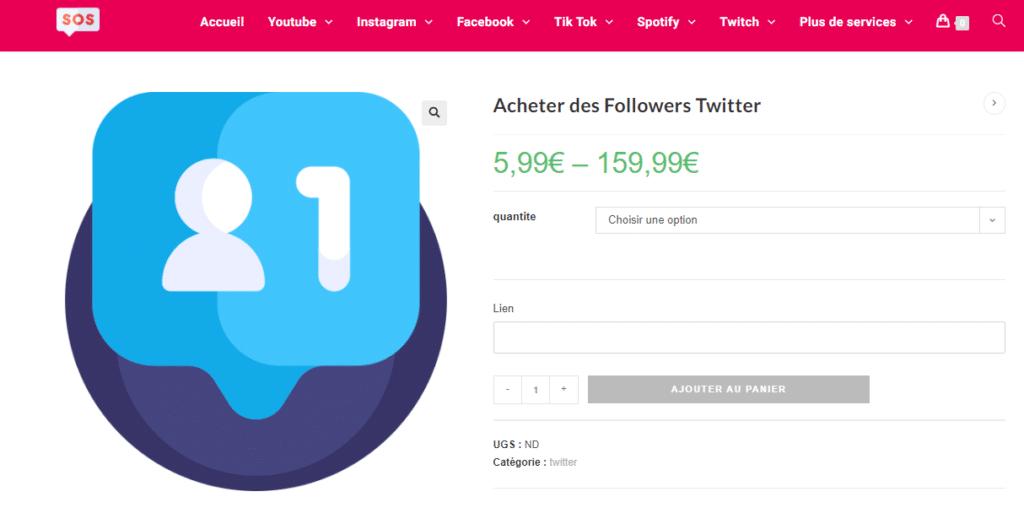 achat followers twitter actifs